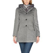 TAIFUN Damen Jacke Outerwear 4, Silber (Alu-Melange 202300), 38