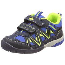 Lico Unisex-Kinder Kolibri V H Sneaker, Blau (Blau/Marine/Lemon Blau/Marine/Lemon), 34 EU