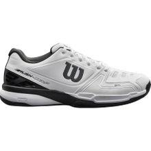 Wilson - Rush Comp Herren Tennisschuh (weiß/schwarz) - EU 44 2/3 - UK 10