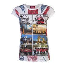 Love Lola Damen T-Shirt, Weiß - Weiß, XL