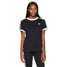 adidas Originals Damen T-Shirt - Schwarz -
