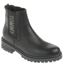 Tommy Jeans Chelsea-Boots - ESSENTIAL CLEATED CHELSEA BOOT schwarz