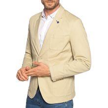 Benetton Sakko Slim Fit in beige für Herren