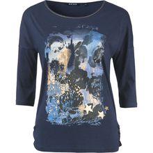 BLUE SEVEN 3/4-Arm-Shirt dunkelblau Damen