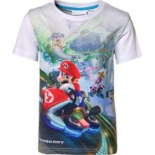 Super Mario T-Shirt  weiß Jungen Kleinkinder