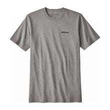 Patagonia - P-6 Logo Responsibili Herren T-Shirt (grau) - L