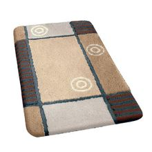 Kleine Wolke 4539226225Fresh Badteppich PVC Sand, sand, 70 x 120 cm