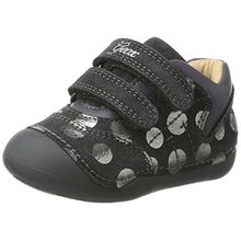 Geox Baby Mädchen B Tutim C Sneaker, Grau (Dk Grey), 23 EU