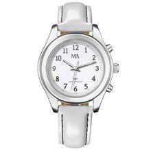 Meister Anker Armbanduhr weiß Damen