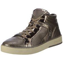 Bugatti Damen 422291305050 Hohe Sneaker, Braun (Taupe/Metallic), 42 EU