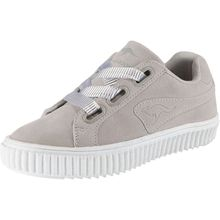 KangaROOS Sneakers Low KANPU JR SATIN für Mädchen grau Mädchen