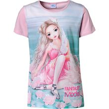 Fantasy Model T-Shirt  rosa Mädchen Kinder