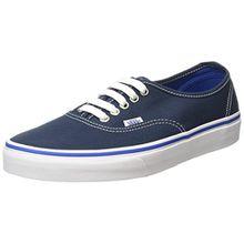 Vans Unisex-Erwachsene Authentic Low-Top, Blau (Midnight Navy/True White), 47 EU