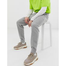 Tommy Jeans - Klassische Jogginghose mit Bündchen und Logo in Grau - Grau