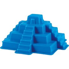 Maya-Pyramide blau