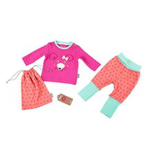 Sigikid Baby-Mädchen Zweiteiliger Schlafanzug Pyjama, Rosa (Shocking Pink 682), 80