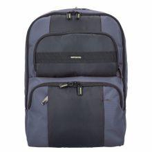 SAMSONITE Infinipak Sicherheits Rucksack 44 cm Laptopfach taubenblau / schwarz