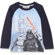 Lego Star Wars Jungen T-Shirt 161403, Grau (Grau), 10 Jahre (Hersteller Größe: 10 Jahre)