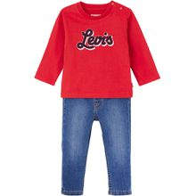 Levis Set aus Langarmshirt und Jeans