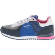 Pepe Jeans Sneakers 'SYDNEY STARS' blau / pink