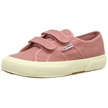 Superga 2750 JVEL Classic, Unisex-Kinder Low-Top Sneaker, Pink (Dusty Rose), 30 EU (11.5UK)