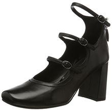 GERRY WEBER Shoes Viktoria 03, Damen Mary Jane Halbschuhe, Schwarz (Schwarz), 37.5 EU (4.5 UK)