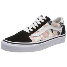 Vans Damen Old Skool Sneaker, Mehrfarbig (California Poppy), 36.5 EU