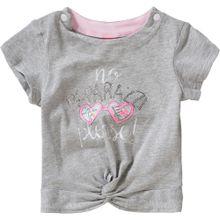S.Oliver Junior T-Shirt graumeliert / mischfarben