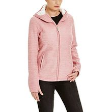 Bench Damen Strickjacke Furthermost, Rosa (Brandied Apricot PK162-CR018), Large