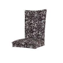MagiDeal Stretch Spandex Elastisches Stuhl Hussen Stuhlbezug Sitz Schutz - Schwarz