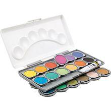 Deckfarbkasten, 24 Farben, inkl. Deckweiß