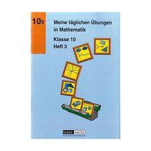 Buch - Meine täglichen Übungen in Mathematik: Klasse 10, EURO