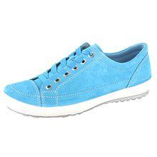 Legero 0-00820 Tanaro Schuhe Damen Halbschuhe Schnürschuhe Weite G, Schuhgröße:38;Farbe:Türkis