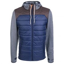 Alprausch - Piz Gloria Hybrid Jacket - Freizeitjacke Gr L;S blau/grau
