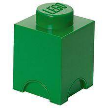 LEGO Aufbewahrungsdose Storage Brick grün