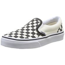 Vans CLASSIC SLIP-ON, Unisex-Kinder Sneakers, Mehrfarbig ((Checkerboard) EO1), 30.5 EU