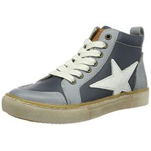 Bisgaard Unisex-Kinder Schnürschuhe High-Top, Blau (601 Blue), 29 EU