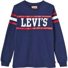 Levis Langarmshirt mit Print-Streifen