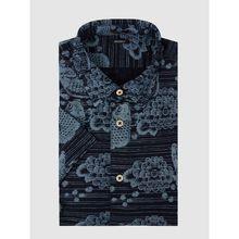 Regular Fit Freizeithemd aus Baumwolle Modell 'Koino Bori'
