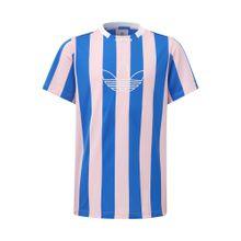 ADIDAS ORIGINALS T-Shirt royalblau / rosa / weiß