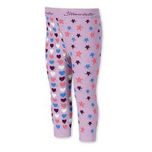Sterntaler Baby-Mädchen Legging Leggins Sterne/Herzen, Rosa (Malve 706), 86