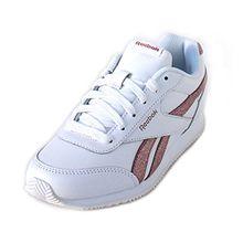 Reebok ROYAL CLJOG 2 Kinder Sneaker Größe 2.5 Weiß (Weiß)