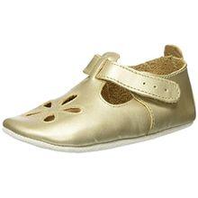 Bobux Baby Mädchen Sandale Gold Slipper, Gold (Gold), L