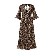 SISTERS POINT Kleid 'GADIE' braun / schwarz