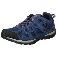 Columbia Damen Redmond Trekking- & Wanderhalbschuhe, Blau (Collegiate Navy/Sunset Red 464), 36.5 EU