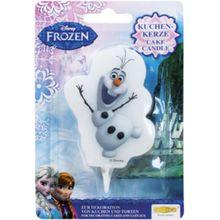 Dekoback Kuchenkerze Frozen Olaf weiß