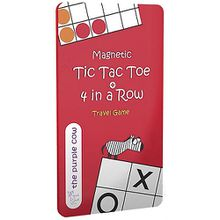Magnetic Travel Game, Tic Tac Toe + 4 Wins (Spiel)