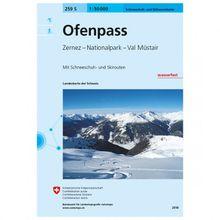 Swisstopo - 259 S Ofenpass - Skitourenführer Ausgabe 2018