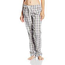 Skiny Damen Schlafanzughosen Sleep & Dream Hose lang, All over print, Gr. 42, Mehrfarbig (SHADOW CHECK 5726)