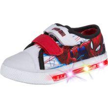 SPIDERMAN Sneakers saphir / feuerrot / schwarz / weiß